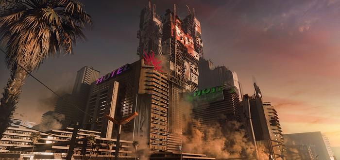 В некоторых моментах Cyberpunk 2077 игроки смогут взбираться на небоскребы