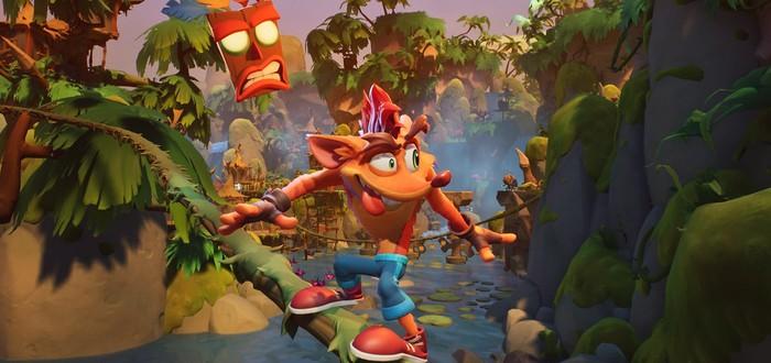 В Crash Bandicoot 4: It's About Time будет оффлайн-мультиплеер до четырех игроков