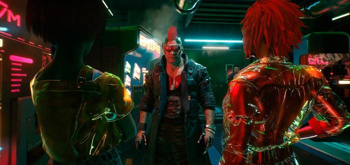 Много геймплея Cyberpunk 2077 с превью-сессий