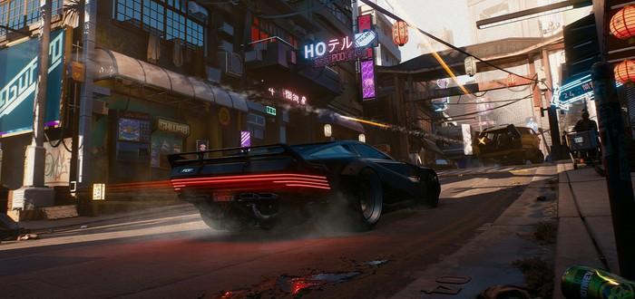 Игроки не смогут кастомизировать транспорт в Cyberpunk 2077