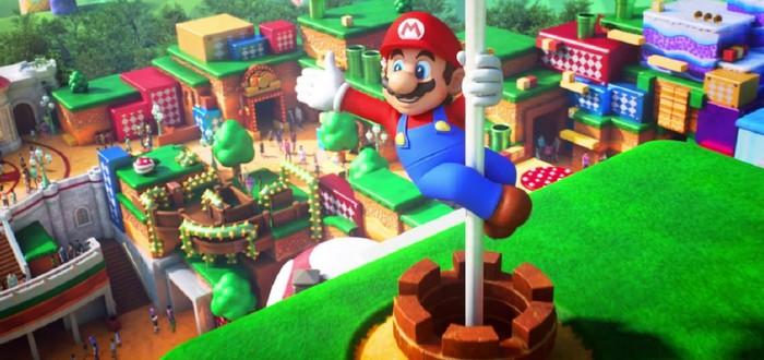 Открытие парка Super Nintendo World отложили на неопределенный срок