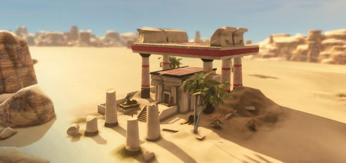 Ранний геймплей градостроительной стратегии Dynasty of the Sands