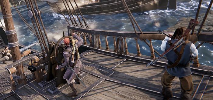 Пиратские хедшоты, разрушаемость объектов и корабельные перестрелки в геймплейном трейлере Out of Reach: Treasure Royale