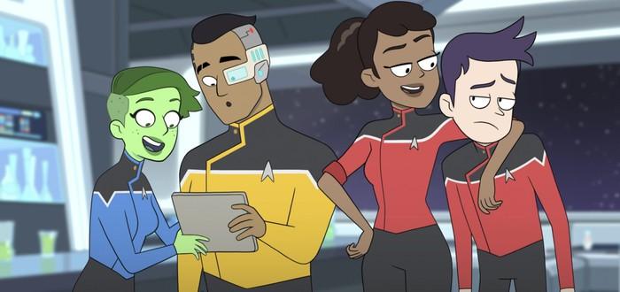 Дата выхода, тизер и постер мультсериала Star Trek: Lower Decks