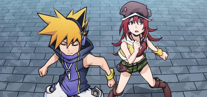 Первый тизер аниме-адаптации The World Ends With You