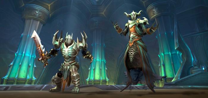 Blizzard начнет объединять малонаселенные серверы World of Warcraft