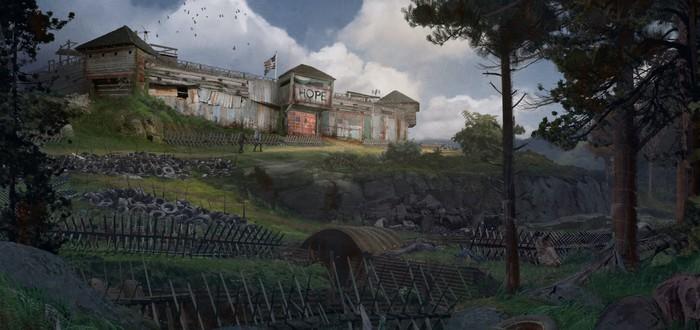 Создатели Left 4 Dead опубликовали арт Back 4 Blood