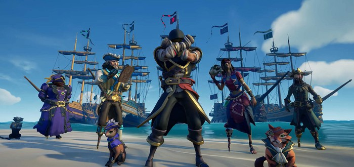 Steam-чарт: Sea of Thieves все еще лидирует
