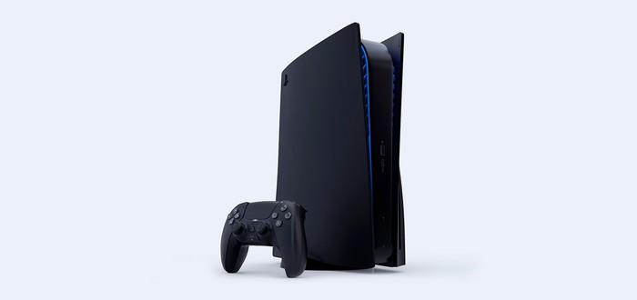 Фанатский трейлер черной PS5 в стиле оригинальной презентации