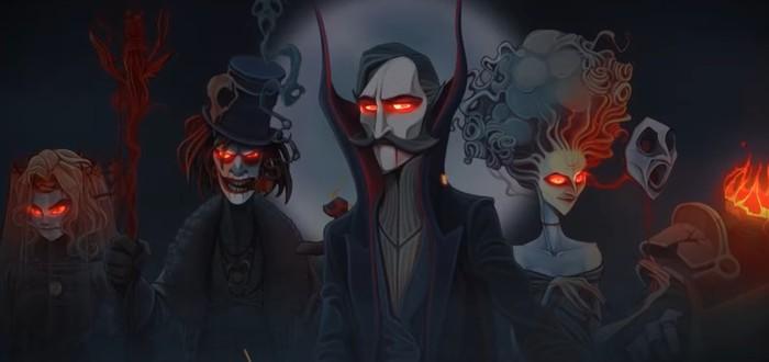 Сюжетный трейлер пошаговой тактической игры Rogue Lords о восстании дьявола