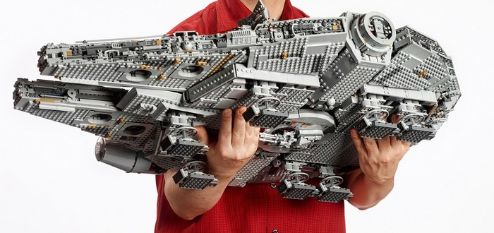 """Эту сборку LEGO """"Сокол тысячелетия"""" снимали в течение 5 недель"""
