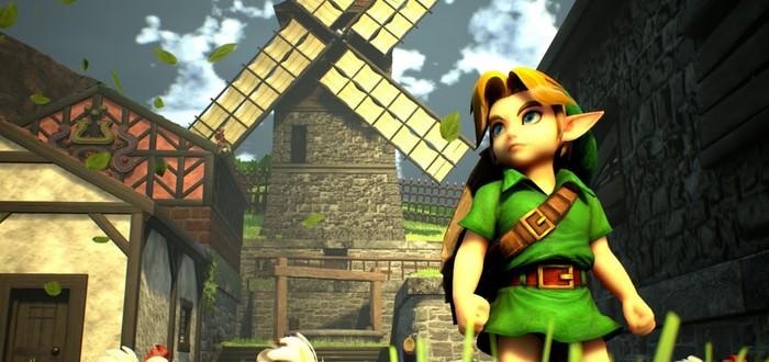 Геймплей седьмого обновления фанатского ремейка The Legend of Zelda: Ocarina of Time