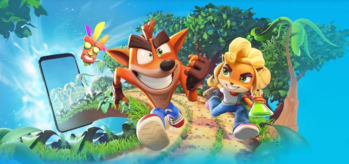 Анонсирован мобильный раннер Crash Bandicoot: On the Run!