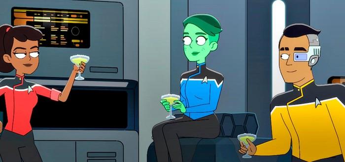 Первый трейлер мультсериала Star Trek: Lower Decks