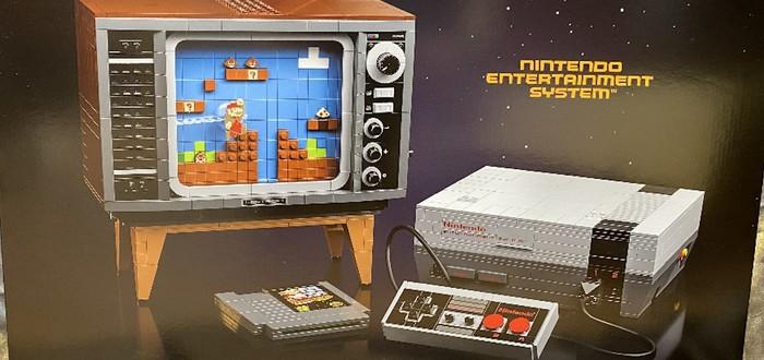 Утечка: LEGO выпустит набор с NES и старым телевизором