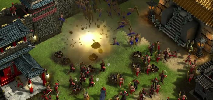 40 минут геймплея Stronghold Warlords за китайскую фракцию