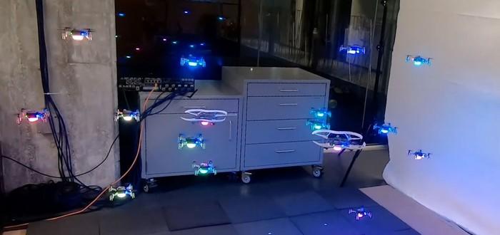 ИИ помог дронам ориентироваться в незнакомом пространстве