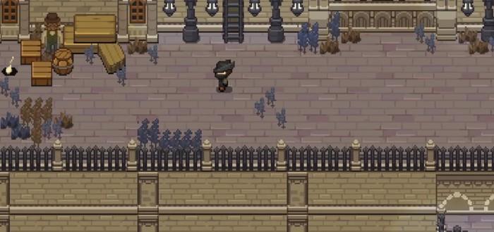 Энтузиаст воссоздал Bloodborne в виде бесплатной пиксельной 2D-игры на PC