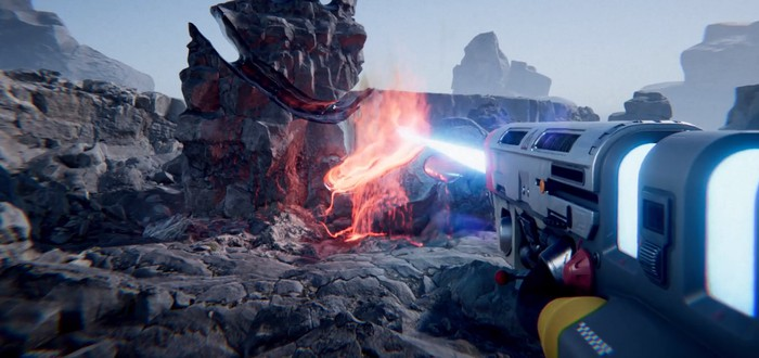 Энтузиаст показал концепт пушки на движке Unity, которая плавит горы
