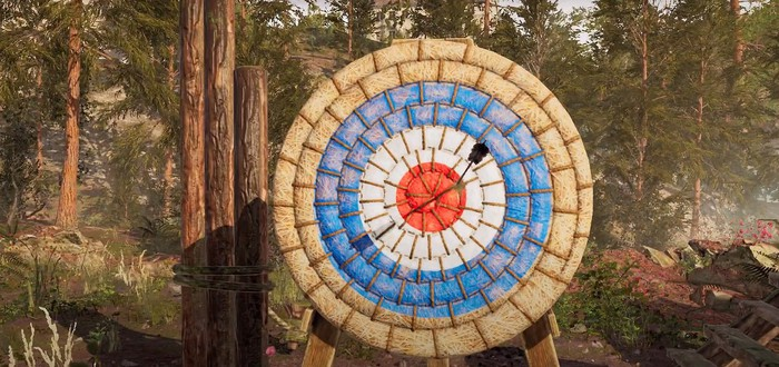 Соревнования лучников в первом трейлере Medieval Archery Simulator