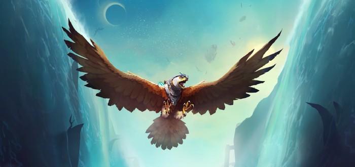 Фантастические полеты на орле в новом трейлере The Falconeer