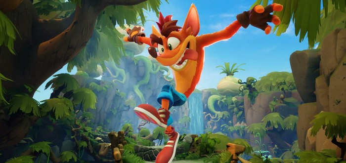 Новый геймплей из демо-версии Crash Bandicoot 4: It's About Time
