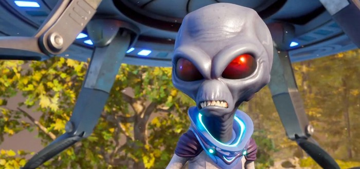 Видеосравнение оригинала и ремейка Destroy All Humans