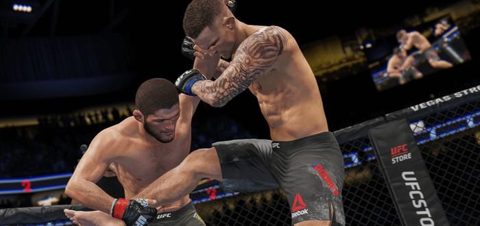 Режим карьеры в новом геймплейном трейлере UFC 4