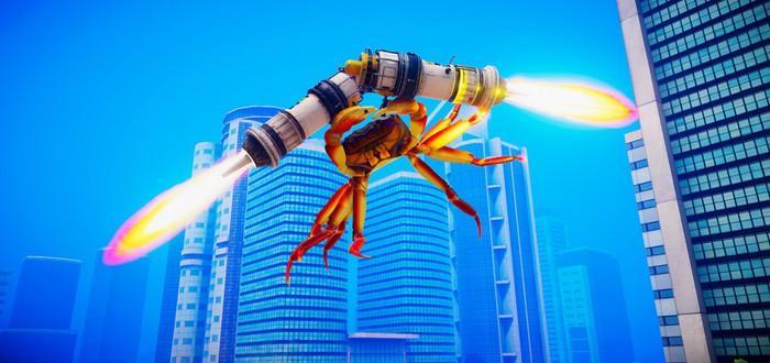 Безумные сражения крабов в релизном трейлере файтинга Fight Crab