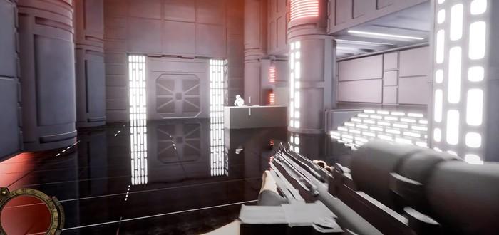 Первое геймплейное видео фанатского ремейка Star Wars: Dark Forces на Unreal Engine 4