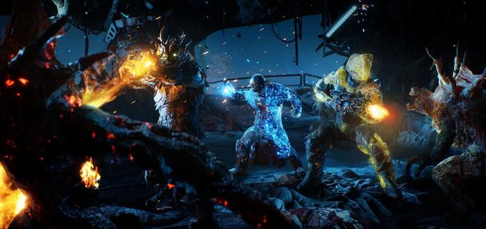 Охота на мощных монстров в новом геймплее Outriders