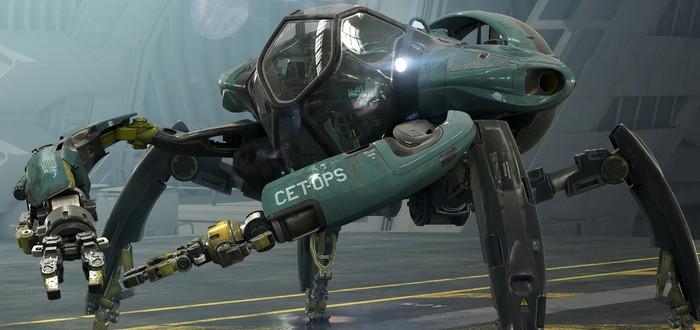 """Крабовидный робот-подлодка на новых концепт-артах """"Аватара 2"""""""