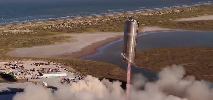 SpaceX успешно запустила и посадила прототип космического корабля Starship