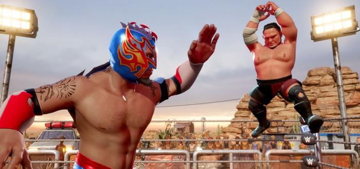 Новый трейлер WWE 2K Battlegrounds посвящен режимам игры