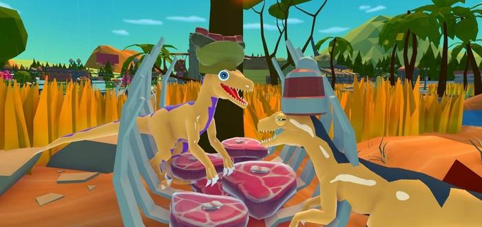 Милый тайкун про динозавров Parkasaurus вышел из раннего доступа