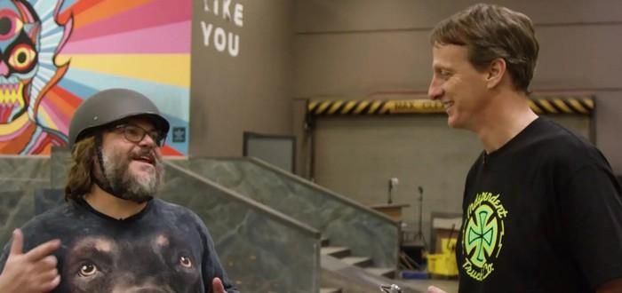 В Tony Hawk's Pro Skater 1+2 появится Джек Блэк в роли офицера Дика