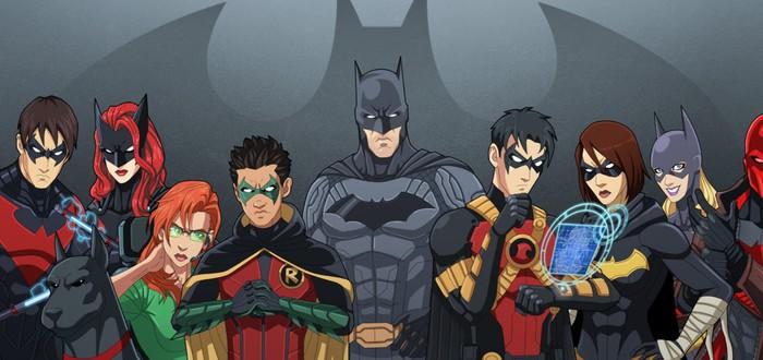 На тизер-сайте новой игры про Бэтмена нашли упоминание Бэтгерл