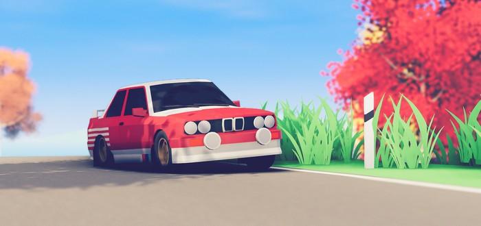 Новый геймплейный трейлер минималистичной Art Of Rally