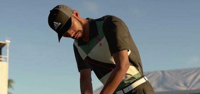 Актер, рестлер и рэпер в релизном трейлере симулятора гольфа PGA TOUR 2K21