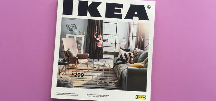 IKEA выпустила каталог товар в стиле Animal Crossing