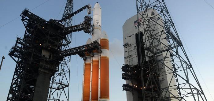 Прямой эфир с запуска ракеты ULA с гигантским разведспутником на борту