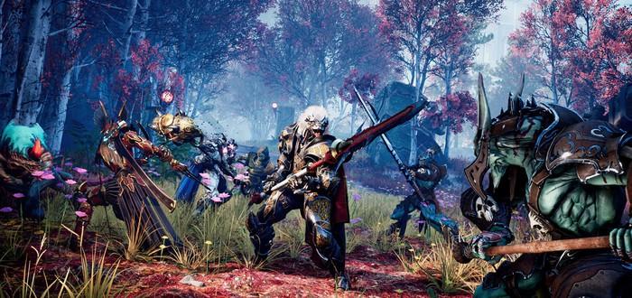 Убийство десятков врагов за разные классы в новом геймплее Godfall