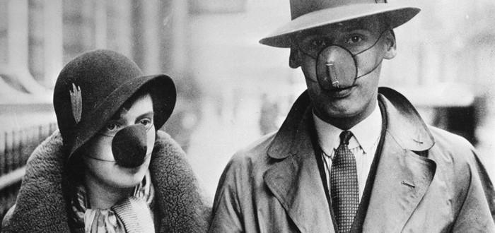Вот какой была культура масочников и антимасочников во время пандемии 1918 года