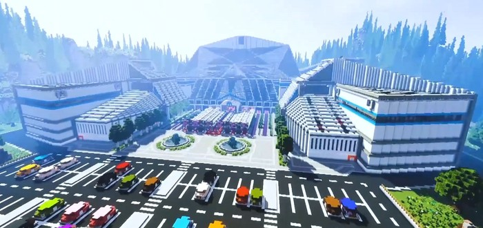 Игрок воссоздал в Minecraft выставку gamescom