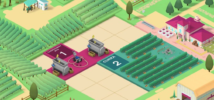 Тонкости производства вина в трейлере стратегии Hundred Days - Winemaking Simulator