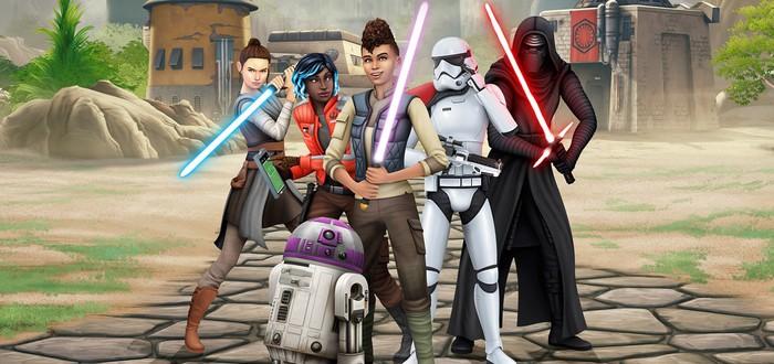 Игроки The Sims 4 недовольны обновлением Star Wars