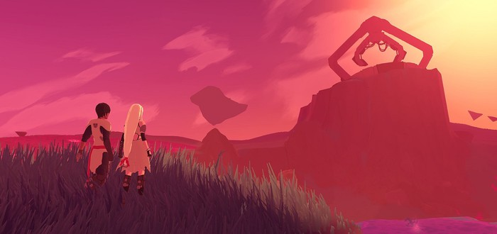 10 минут геймплея Haven от создателей Furi