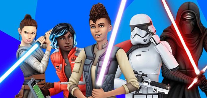 Злой Кайло Рен в геймплейном трейлере дополнения Star Wars для The Sims 4