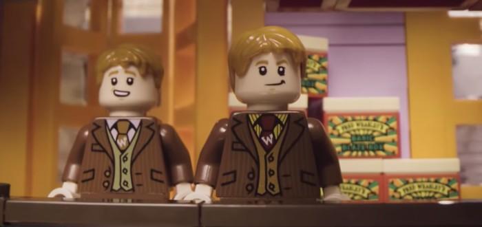 Братья Уизли показывают новый набор LEGO по Гарри Поттеру