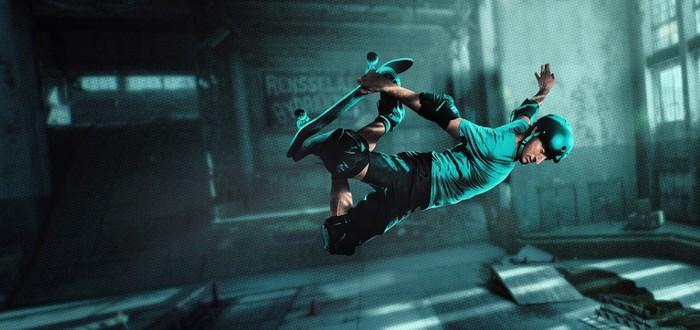 Обучение трюкам в стартовом геймплее Tony Hawk's Pro Skater 1+2